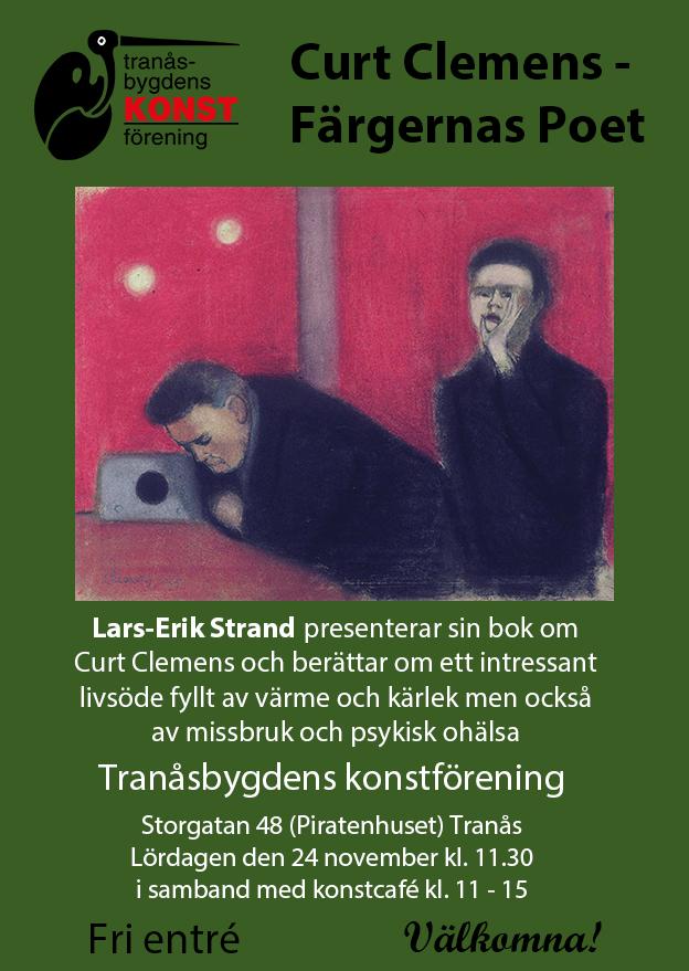 Lars-Erik Strand föreläser om Curt Clemens
